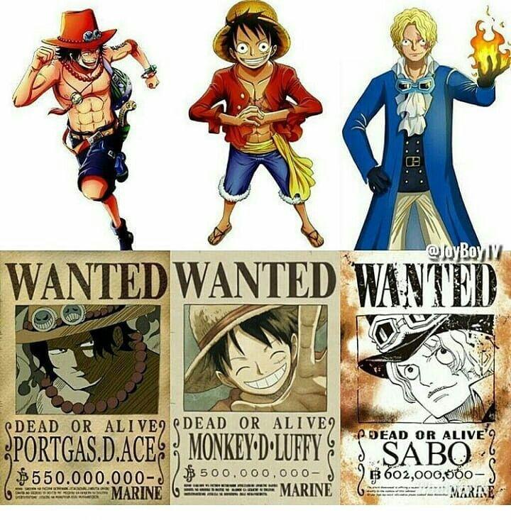 Ace Luffy Sabo