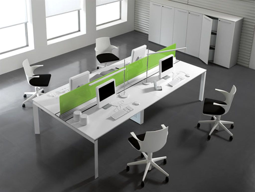 Modern Office Interior Design With Entity Desk Collection