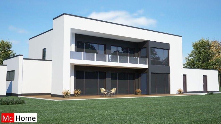 Mc-Homenl M8v2 moderne kubistische villa passief gebouwd in