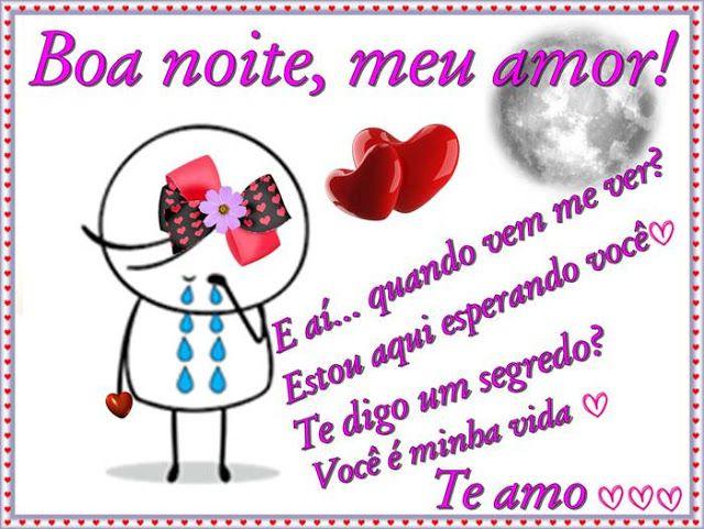 Cartoes Postais De Boa Noite Meu Amor Com Imagens Cartoes