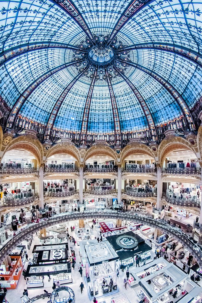Galeries Lafayette Lafayette Paris Paris Shopping Paris Travel