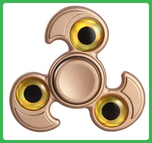 Professional Cool Eagle Design Triangle Hands Fid Spinner Focus