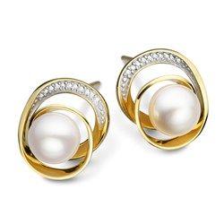 4722322eb Brinco Ouro Amarelo e Diamante Fitas Menor | Jóias / Jewelry ...