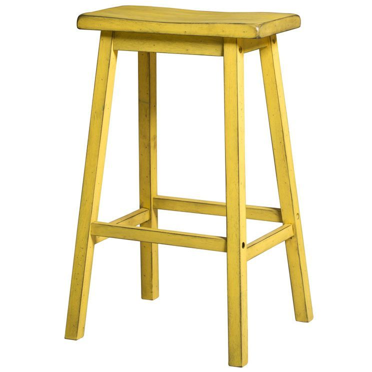 The Gaucho Stool Collection offers casual style, simple clean lines with a versatility perfect for any small dining space. It is also crafted from solid hardwoods with a touch of antique finish.