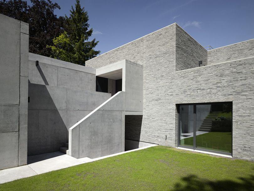 haus k stuttgart germany bottega ehrhardt architects dwellings of germany pinterest. Black Bedroom Furniture Sets. Home Design Ideas
