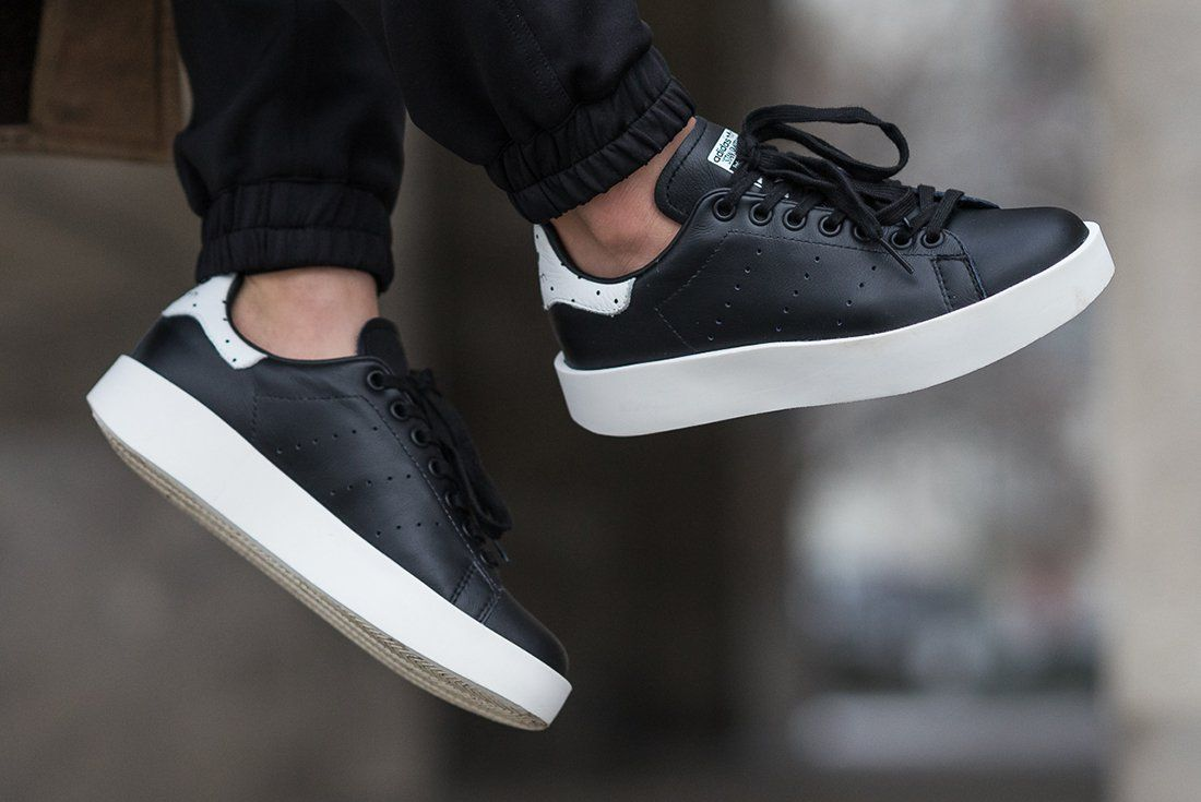 pretty nice 8ef59 b8cfa adidas Stan Smith Bold WMNS (Black White)