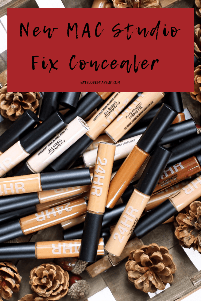 NEW MAC CONCEALER | STUDIO FIX SWATCHES | Kate Loves ...
