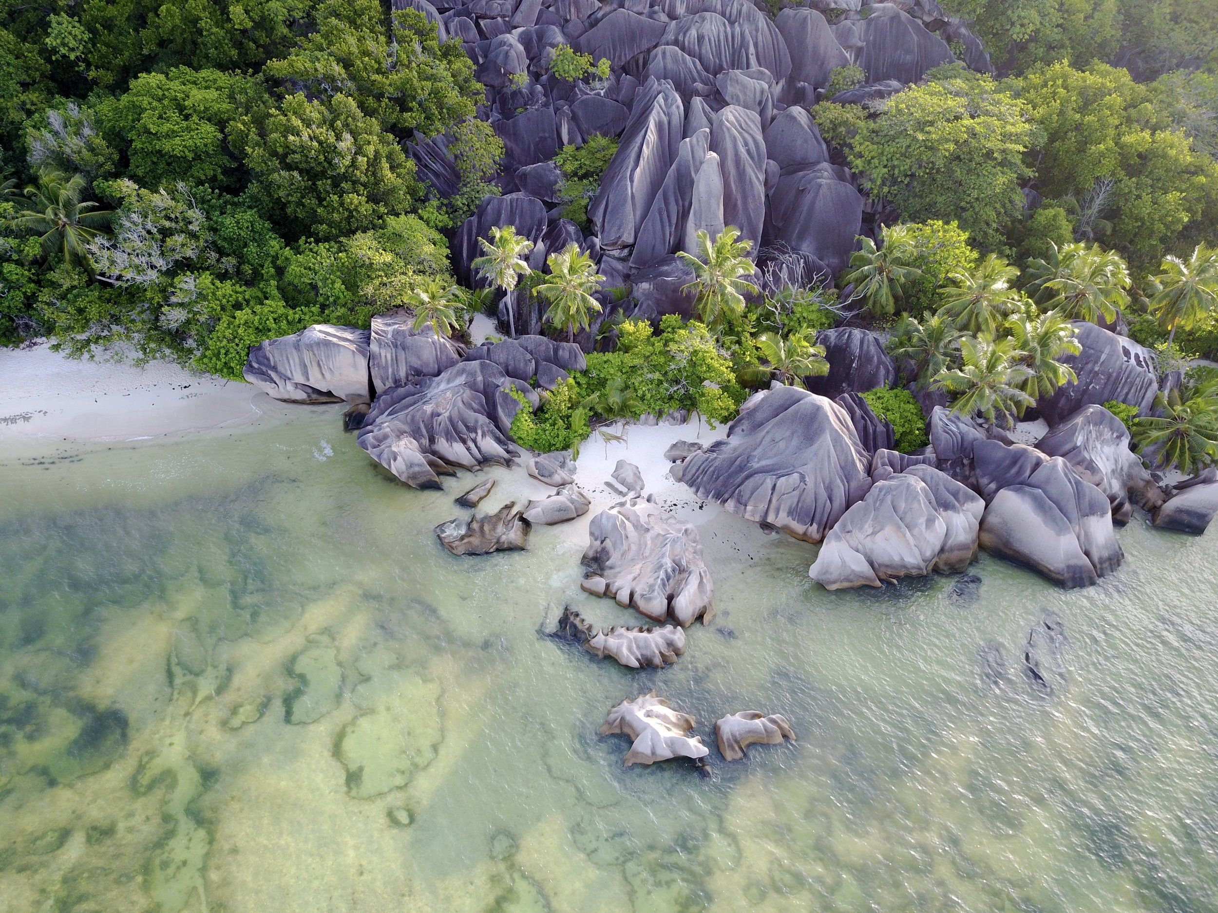 The Seychelles from Above