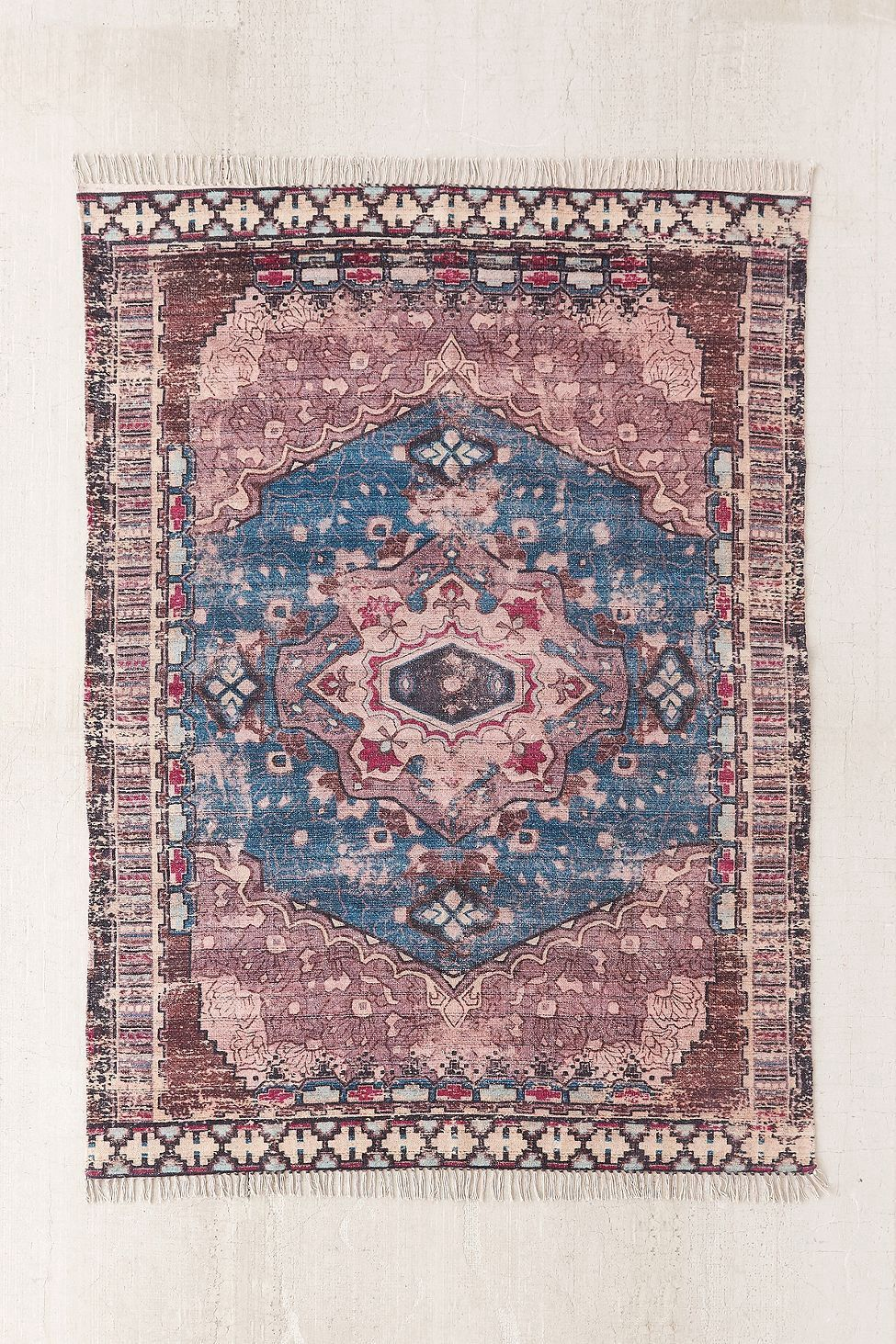 Zelda Kilim Printed Chenille Rug By Urban Outfitters Products