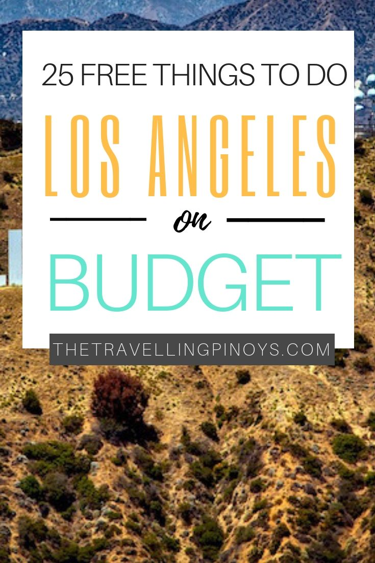 The Ultimate Guide To Los Angeles On A Budget En 2020 Viaje A California Viaje A Los Angeles Los Angeles