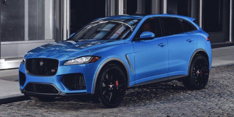 Jaguar Land Rover Debuts F Pace Svr V8 Crossover Suv Photos Details Business Insider In 2020 Jaguar Suv Jaguar Land Rover Jaguar Car