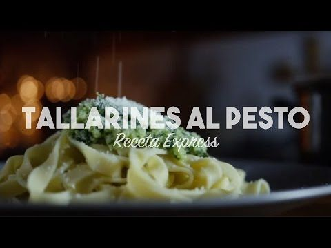 Receta Express #2 · Tallarines al Pesto - YouTube