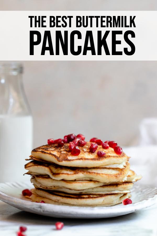 Homemade Buttermilk Pancakes Recipe In 2020 Buttermilk Pancakes Pancake Recipe Buttermilk Homemade Pancake Recipe