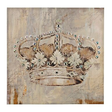 Jeweled Chandelier Canvas Art Print In 2019 Canvas Art