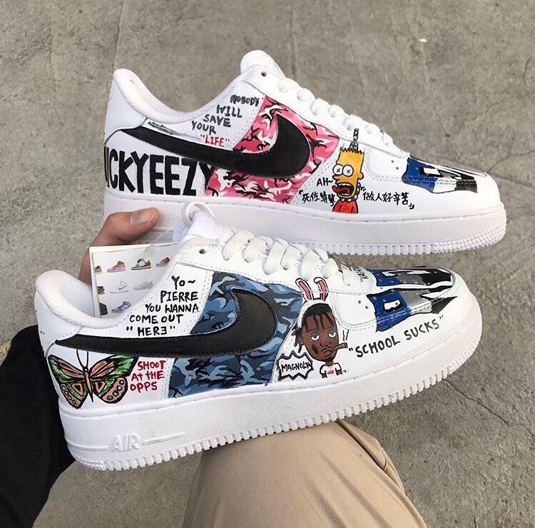 Sneakerhead in 2020   Schuhe anmalen, Tumblr schuhe, Bemalte