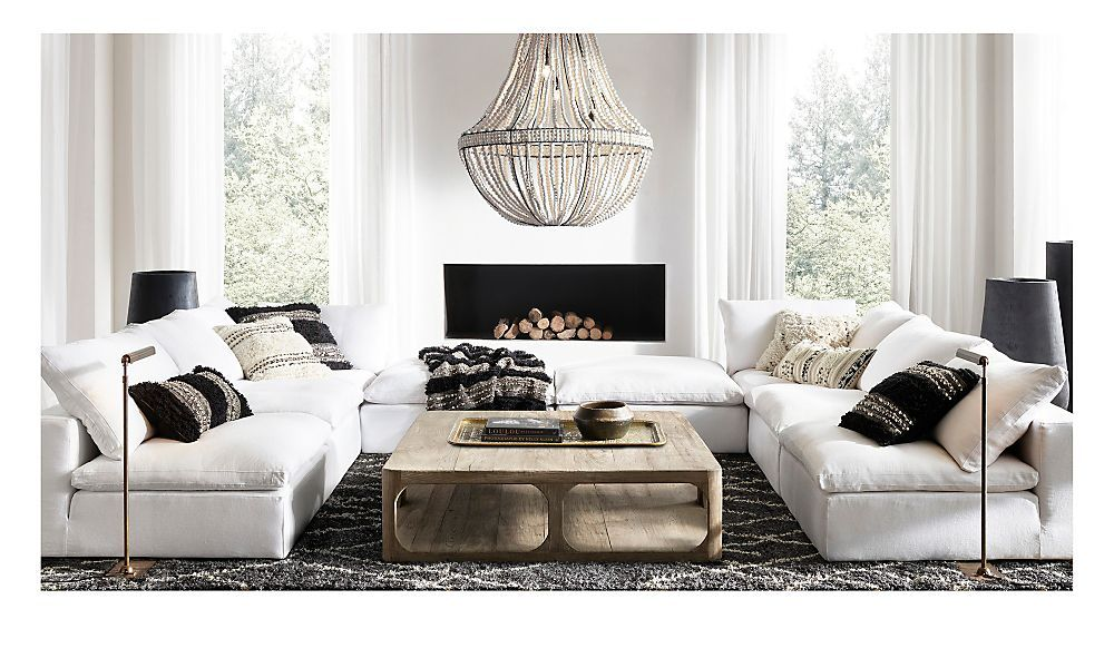 Restoration Hardware Is The Worlds Leading Luxury Home Furnishings Purveyor Offering Furniture Lighting Living Room