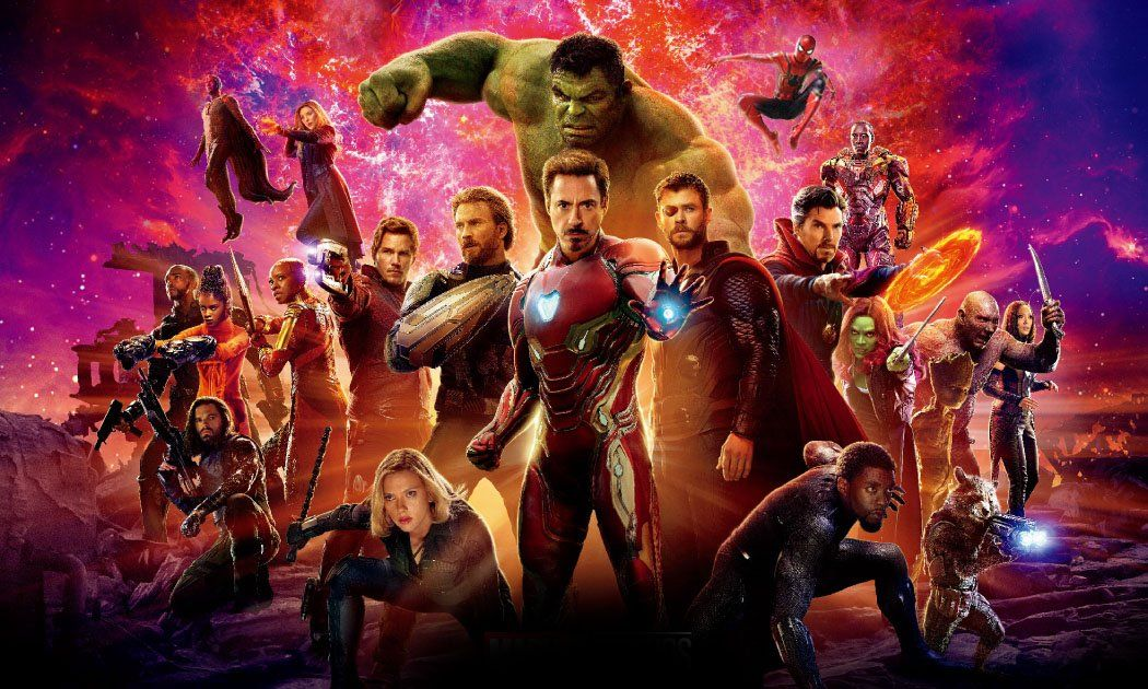 Avengers Infinity War 2018 Marvel Cinematic Avengers Movies