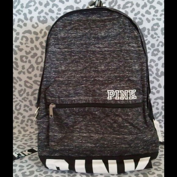 VS pink gray marl backpack NWT | Other, Vs pink and Gray