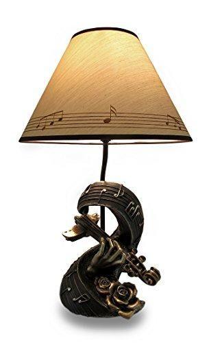 Violin Musical Table Lamp
