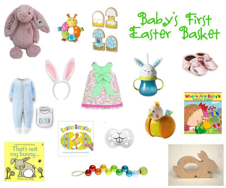 Babys first easter basket great gift ideas for filling your babys first easter basket great gift ideas for filling your babys first basket from the negle Choice Image