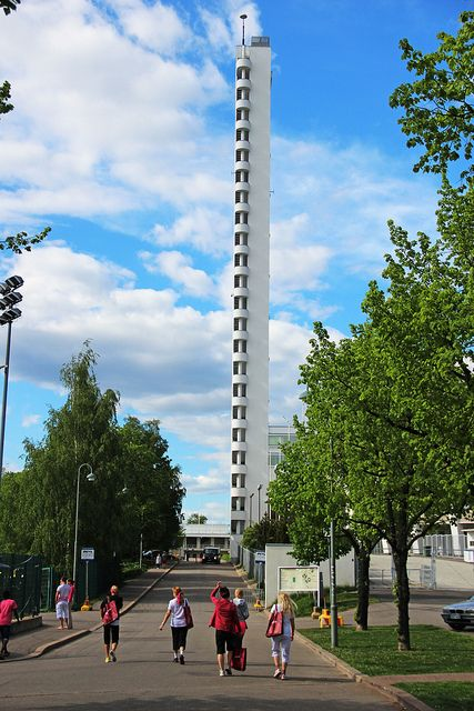 Helsinki Olympic Stadium, Helsinki. I want to go up this to see the views of Helsinki!
