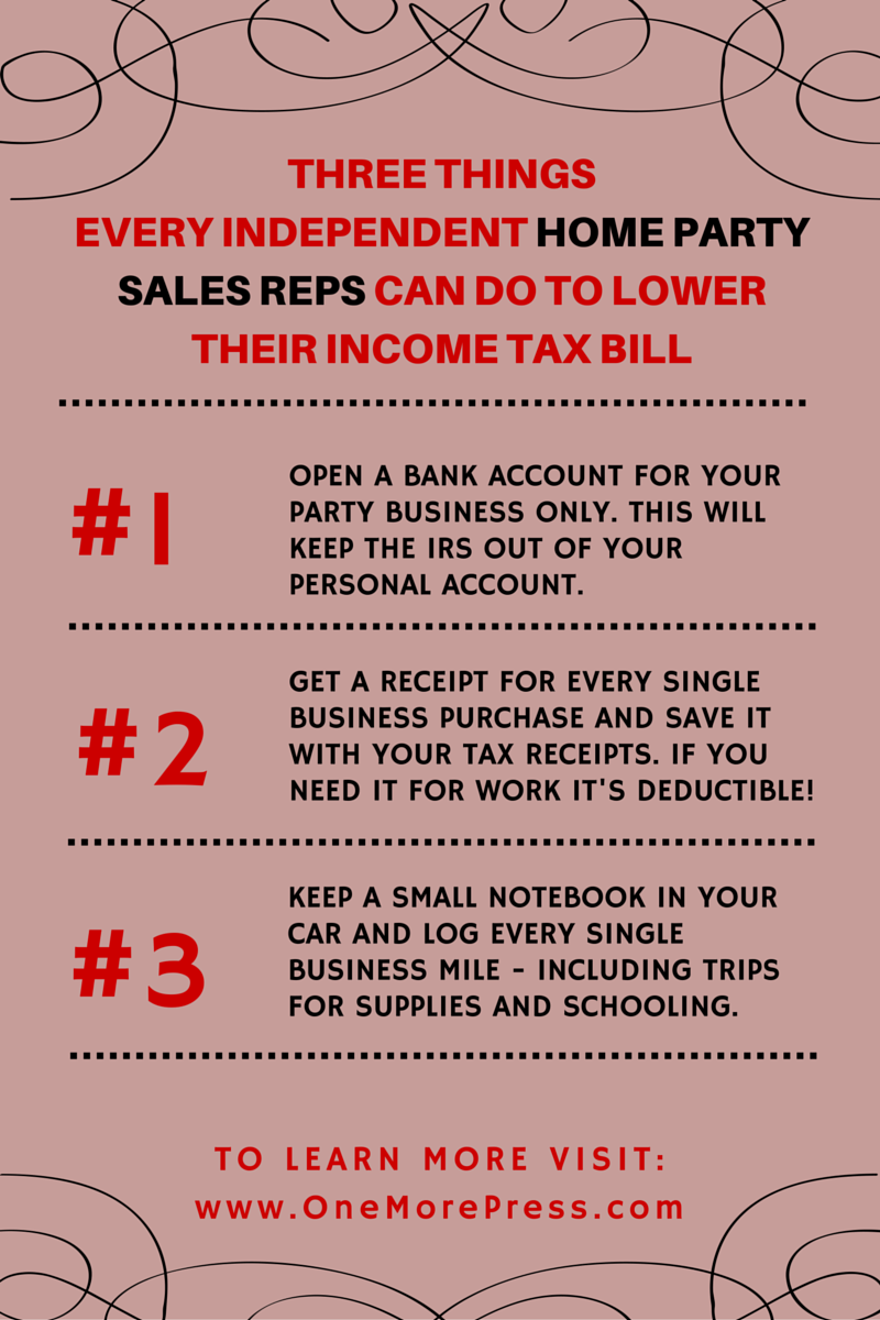 Click For More Home Party Sales Rep Tax Tips House Party Direct Sales Training Direct Sales Business
