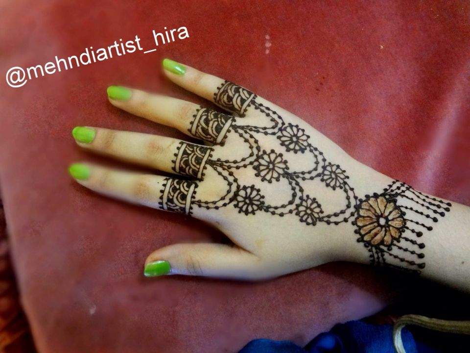 Beautiful Jewellery Henna Mehndi Design Henna Mehndi By