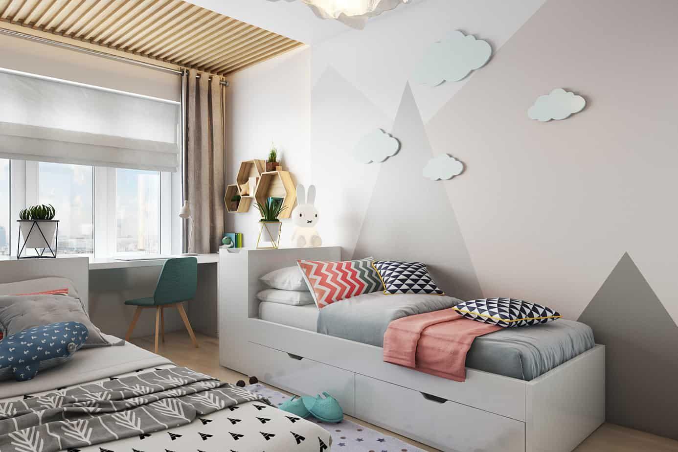 Kids Room Interior 2021 Pastel Colors In 2021 Baby Room Colors Bedroom Trends Kid Room Decor Kids room design 2021