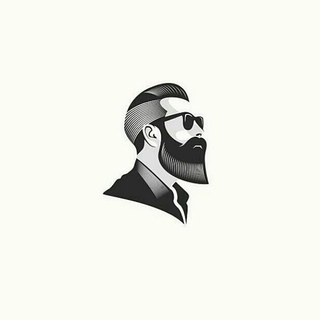 A Daily Source For Logo Design Inspiration Men S Barber Logo Design Barber Logo Beard Logo Design Beard Logo