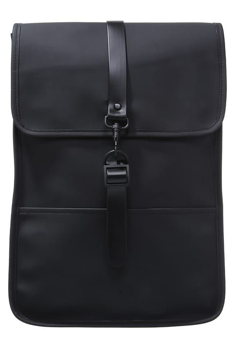 11ee75f5ca8 Tagesrucksack - black - Zalando.de Rains Backpack, Black Noir, Service  Client,
