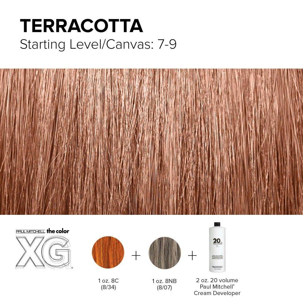 Color Xg Formula Created By Paul Mitchell Hair Color Formulas Paul Mitchell Color Fantasy Hair Color