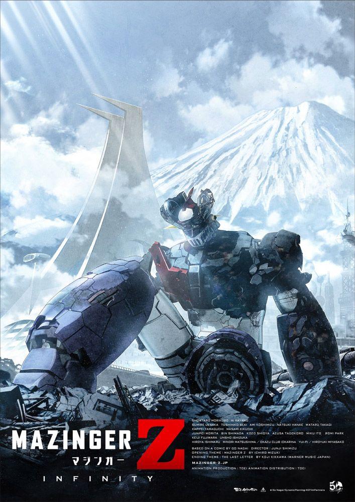 Mazinga Z Infinity: svelata la data di uscita delle versioni DVD e Blu-ray