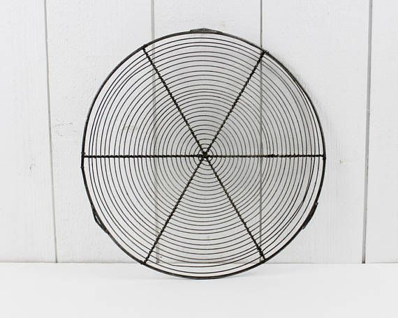 Vintage Wire Pie Cooling Tray Cooling Rack French Vintage Wire Cooling Tray Round Cake Kitchen Decor Inspiration Vintage Kitchen Decor Retro Kitchen Decor