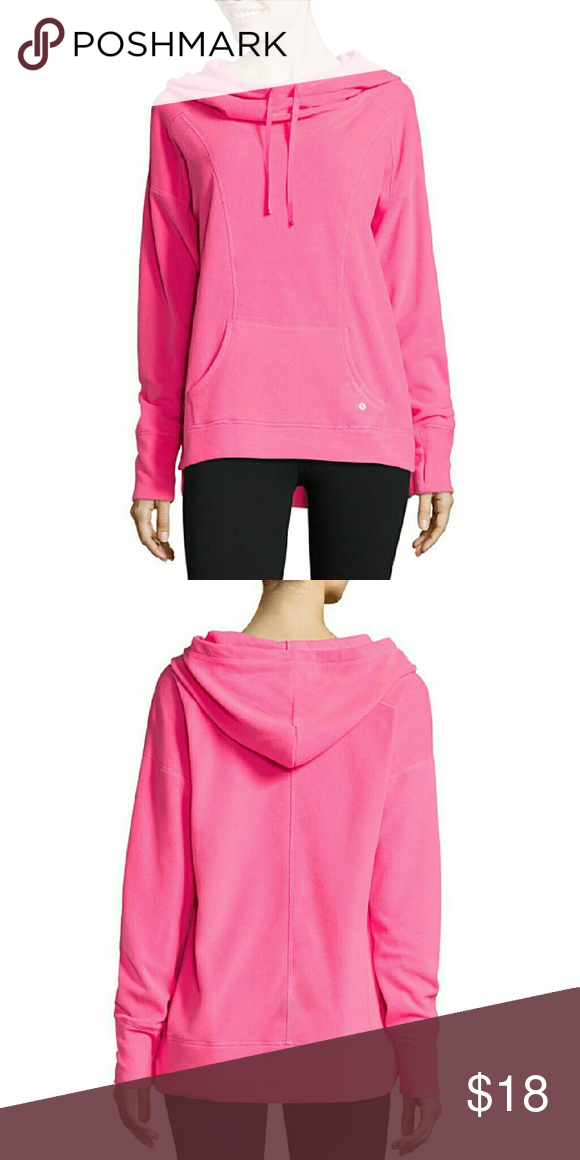 Xersion Long Sleeve Sweatshirt-Talls Sleeve Length: Long Sleeve Neckline: Cowl Neck Fabric Content: 100% Polyester Fabric Description: Knit Country of Origin: Imported Xersion Tops Sweatshirts & Hoodies