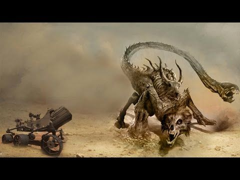 6 Mysterious Creatures Caught By NASA On Mars - YouTube