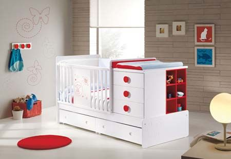 Love The Storage With This Crib Very Cute Baby Room Furniture Kids Room Furniture Baby Nursery Furniture