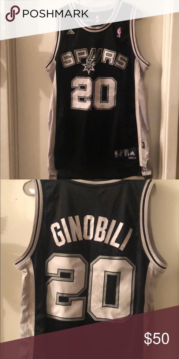 timeless design 46a8e d512f Adidas San Antonio Spurs/ Manu Ginobili Jersey adidas manu ...