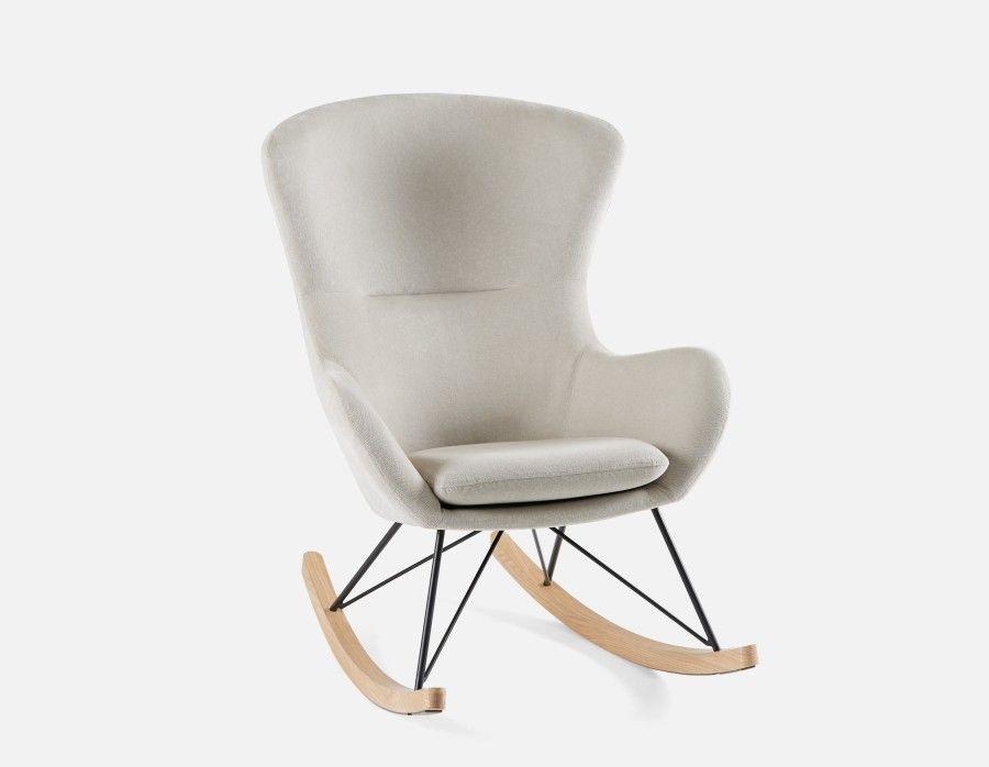 319 bennet egg shape rocking chair structube com