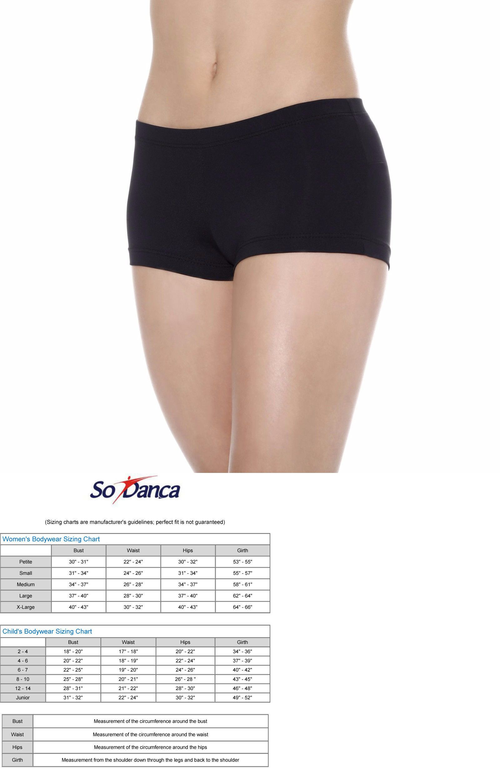 ef5c8b6b8 Pants and Shorts 163138  So Danca Ladies Low Rise Dance Booty Shorts ...