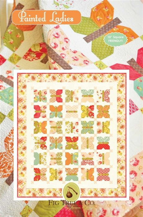 Painted Ladies Tree Quilt Pattern Quilt Kit Tree Quilt