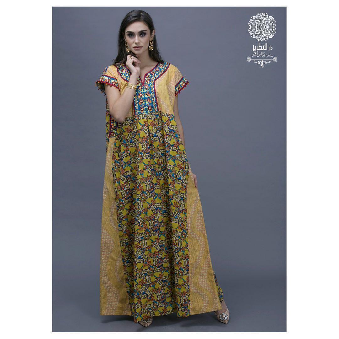 Dress Cotton Classic Dress With Embroidery Price 500 Qar Size Free Size جلابيات قطر دراعات قطر دار التطريز رمضان ٢١٠٧ رمض Classic Dress Fashion Maxi Dress