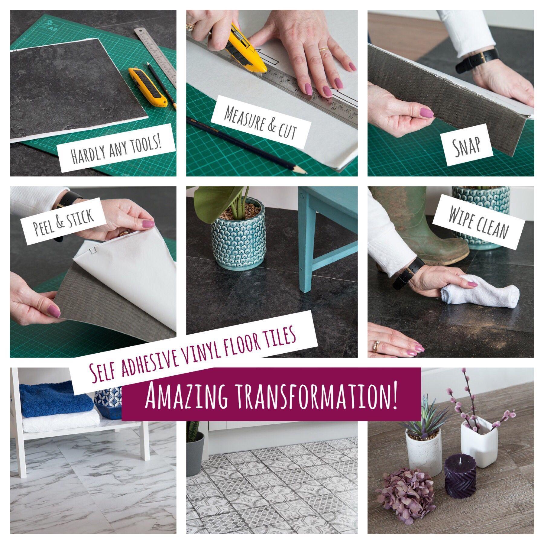 Self Adhesive Vinyl Floor Tiles Floor Selfadhesive Tiles Vinyl I 2020