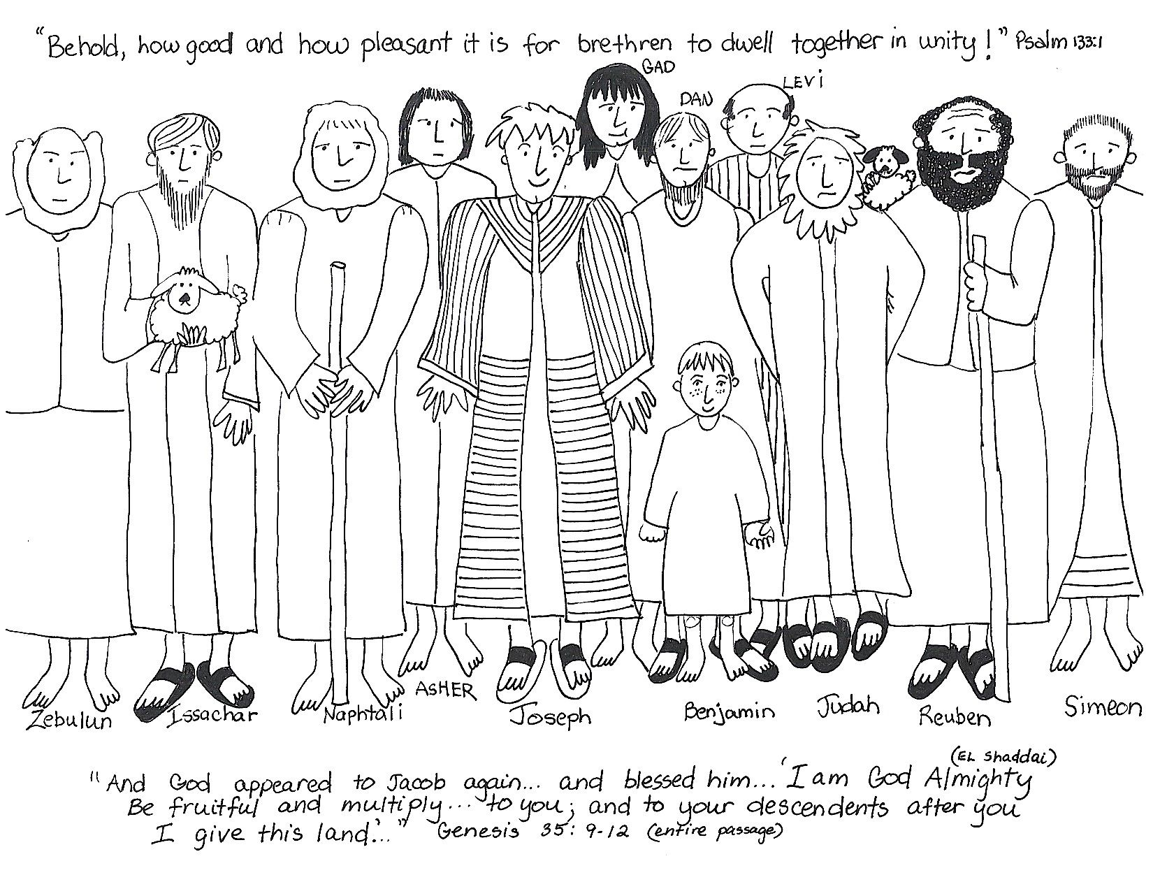 Sunday School Coloring Pages Joseph. Sunday school  HarmonyDay Coloring Pages Worksheets Festival information