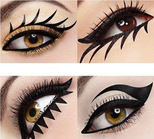 Eyeliner Styles Google Search Eyeliner Designs