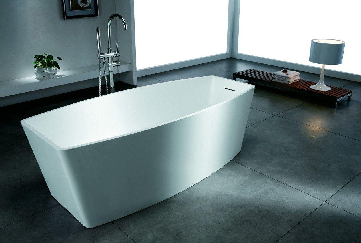 Solid surface free-standing bathtub 71 inch long   Bathtub ...