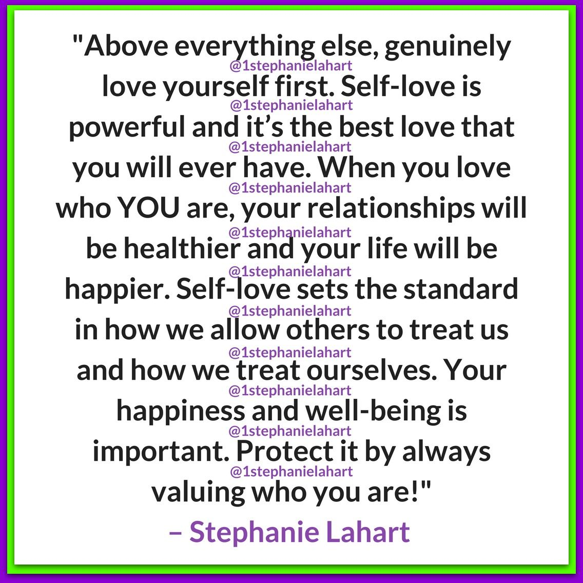 Inspirational And Powerful Self Love And Self Worth Quote For Teens