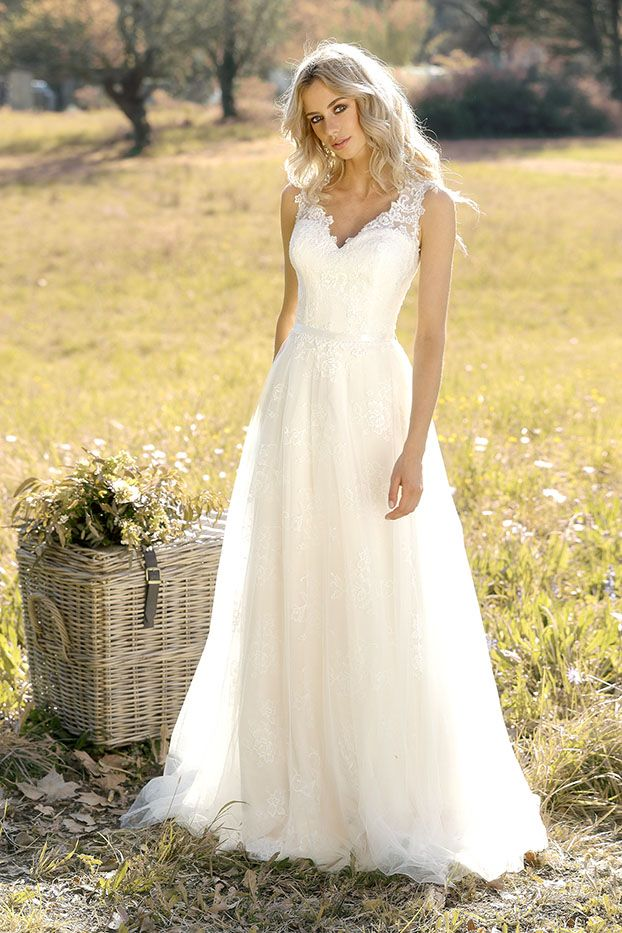 Ladybird - Wedding Dress - Trouwjurk - Bruidsjurk - Boho - Vintage ...