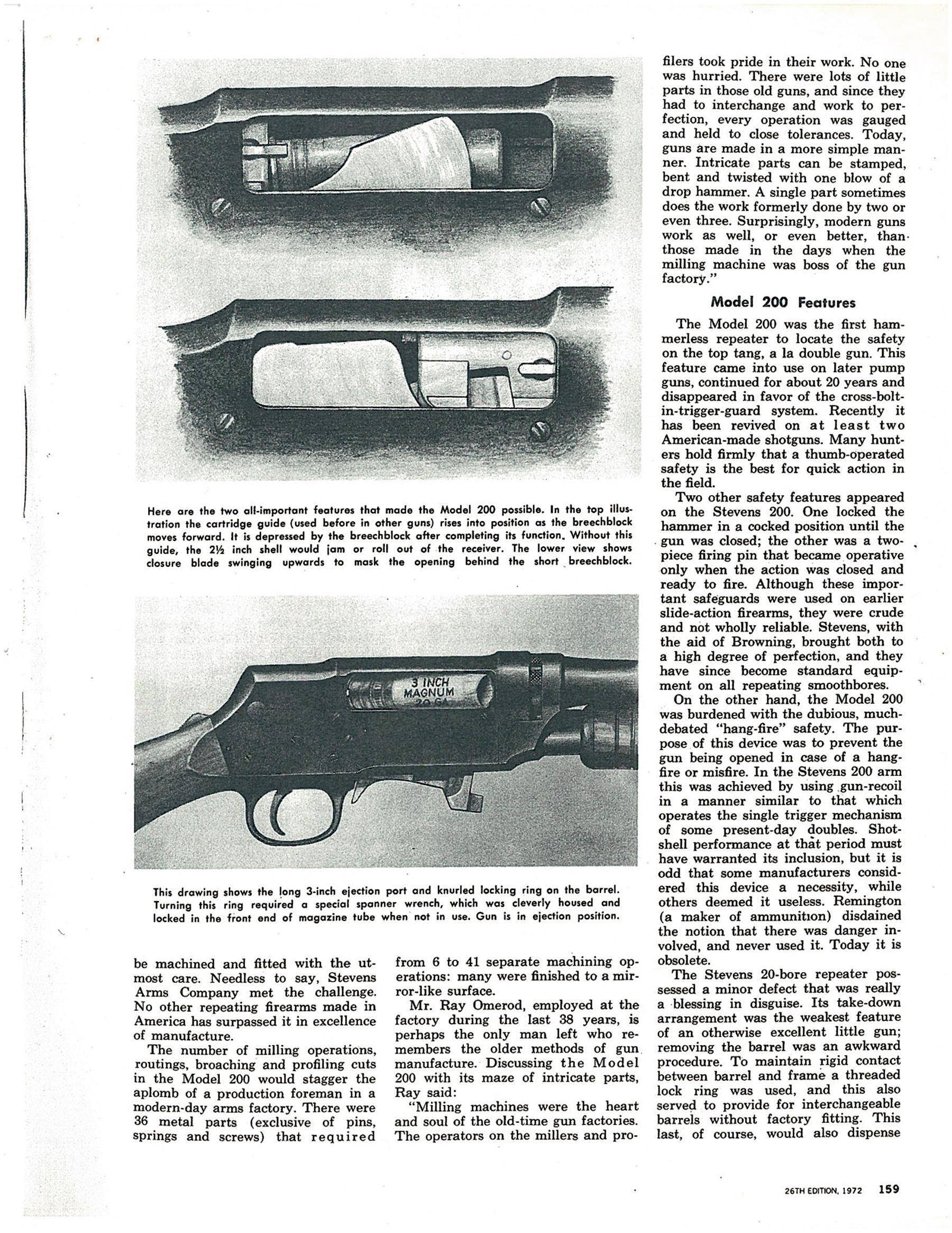 Pin on Stevens No. 200 20 gauge pump shotgun
