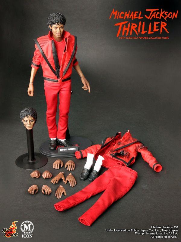 Michael Jackson Dioramas Michael Jackson Thriller Hot Toys