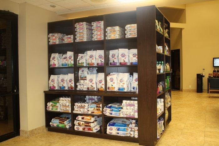Veterinary Hospital Food Shelving Non Prescription Food Shelves